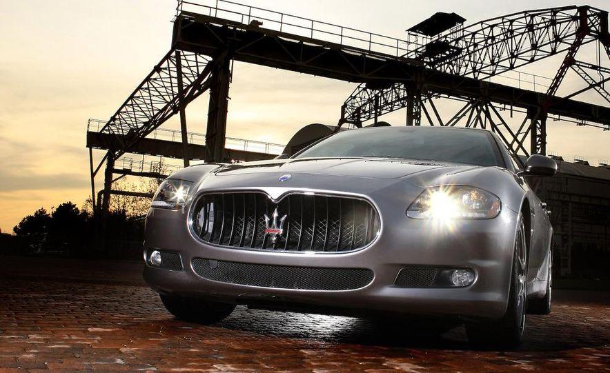 2009 Maserati Quattroporte Sport GT S - Slide 1