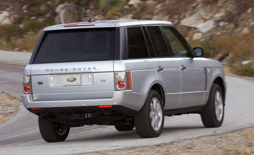 Land Rover Compact Range Rover concept (artist's rendering) - Slide 19