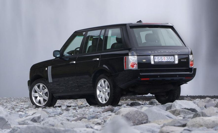 Land Rover Compact Range Rover concept (artist's rendering) - Slide 17