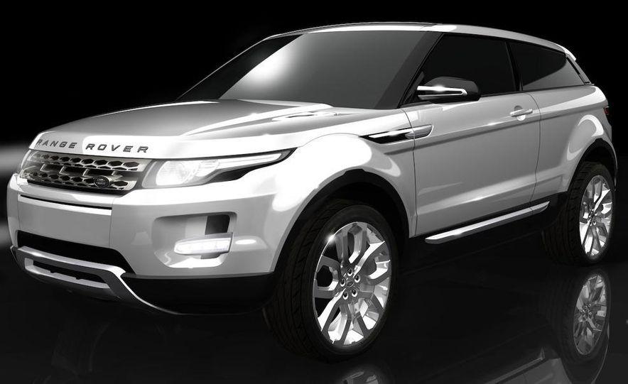 Land Rover Compact Range Rover concept (artist's rendering) - Slide 1