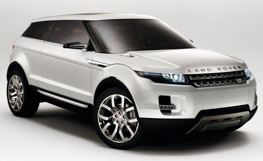 Land Rover Compact Range Rover concept (artist's rendering) - Slide 10