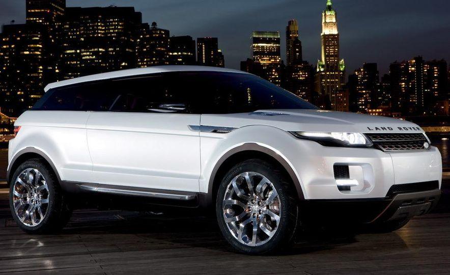 Land Rover Compact Range Rover concept (artist's rendering) - Slide 3