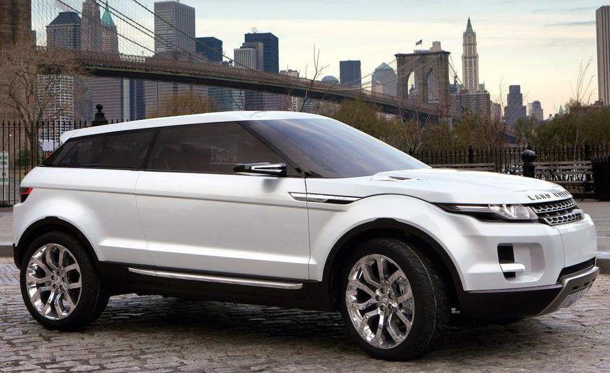 Land Rover Compact Range Rover concept (artist's rendering) - Slide 7