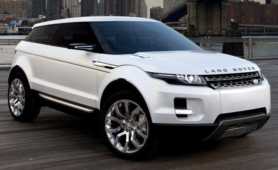 Land Rover Compact Range Rover concept (artist's rendering) - Slide 9