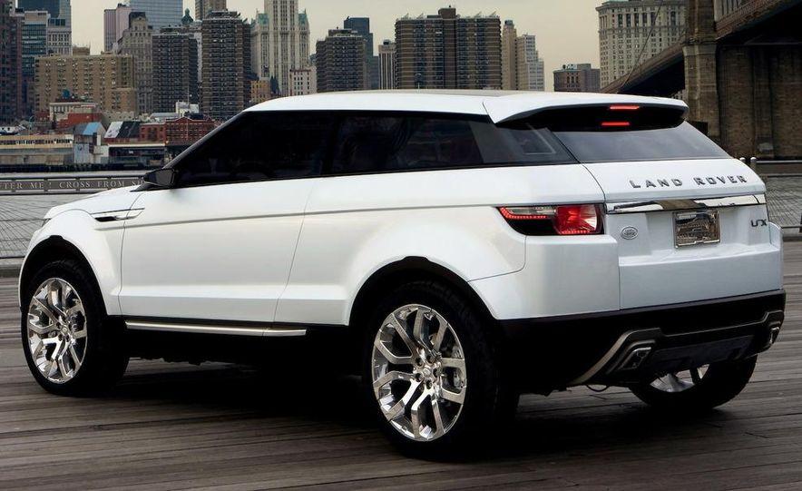 Land Rover Compact Range Rover concept (artist's rendering) - Slide 2
