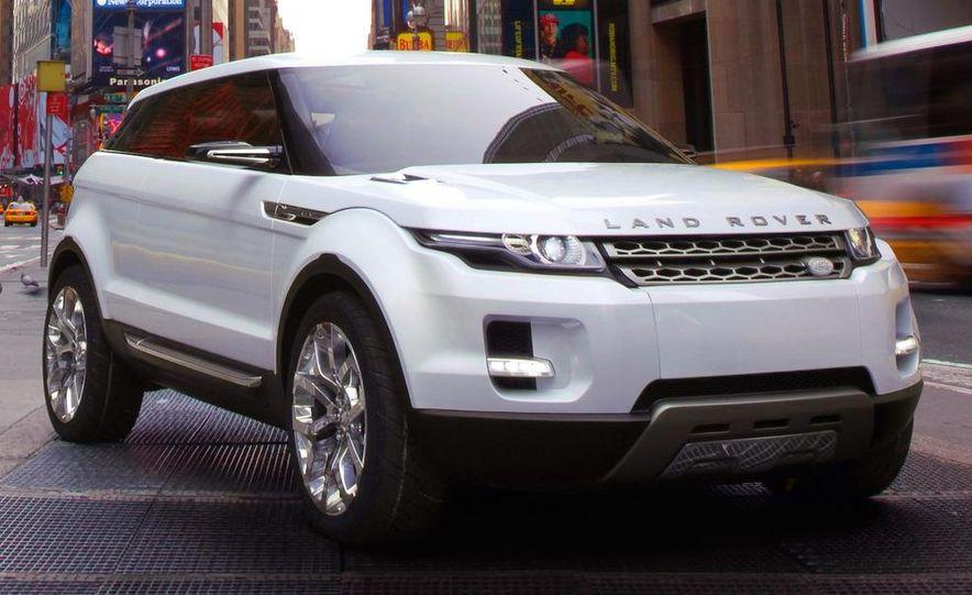Land Rover Compact Range Rover concept (artist's rendering) - Slide 4