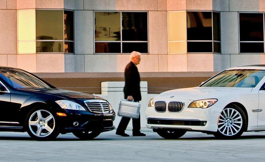 2009 Mercedes-Benz S550 and 2009 BMW 750Li - Slide 2