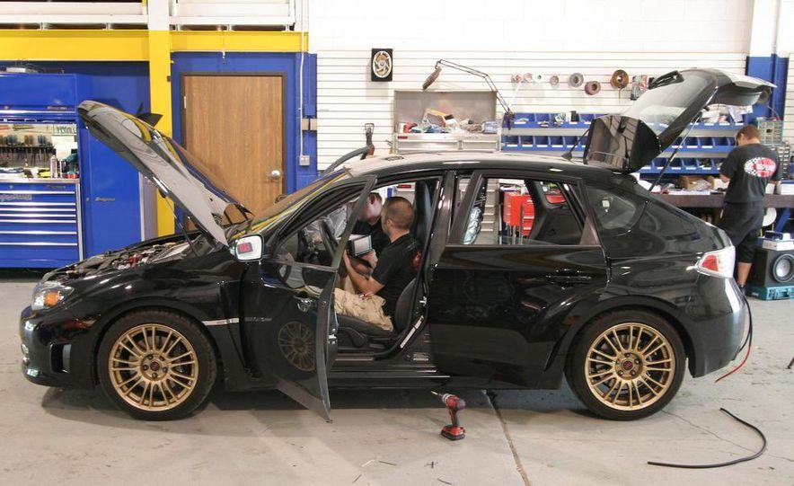 2009 Subaru Impreza WRX sedan - Slide 14