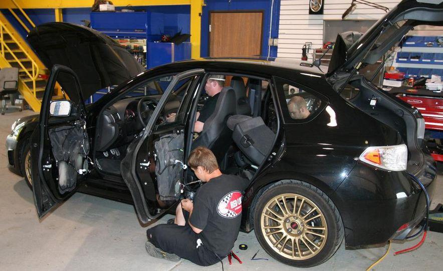 2009 Subaru Impreza WRX sedan - Slide 10