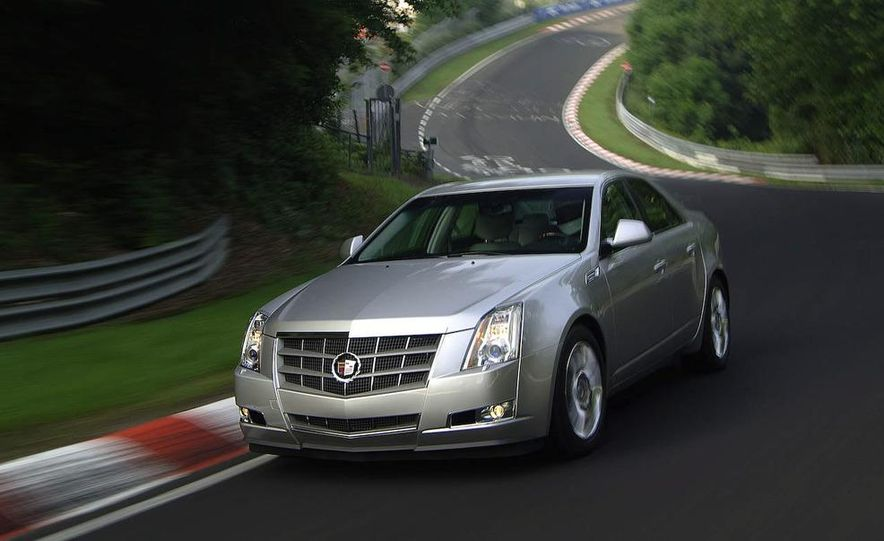 2009 Cadillac CTS - Slide 1