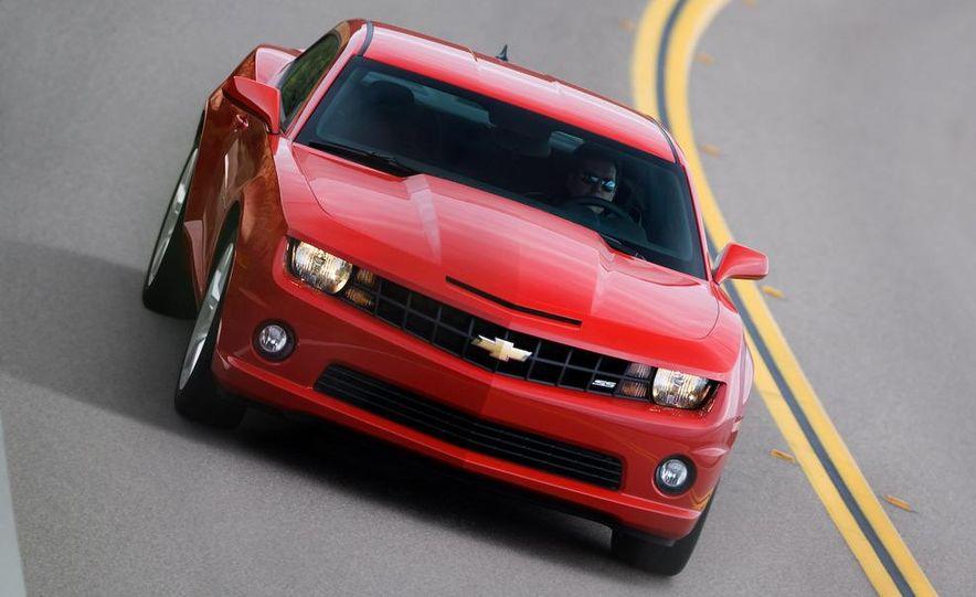 2010 Chevrolet Camaro SS wheel and fender badge - Slide 64