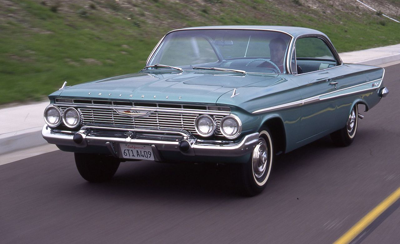 1961 Chevrolet Impala Ss409 Archived Test Feature Car