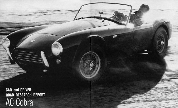 1963 Shelby AC Cobra