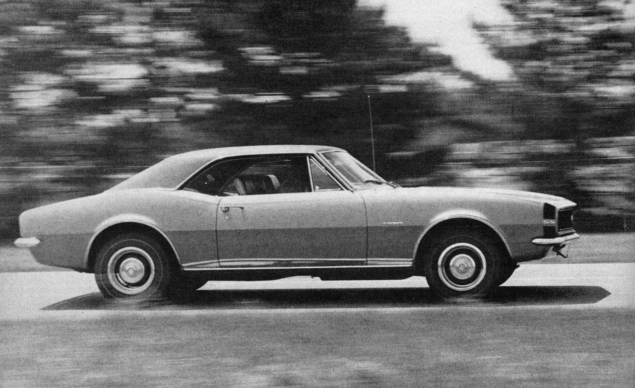1967 chevrolet camaro ss 350 archived test review car. Black Bedroom Furniture Sets. Home Design Ideas