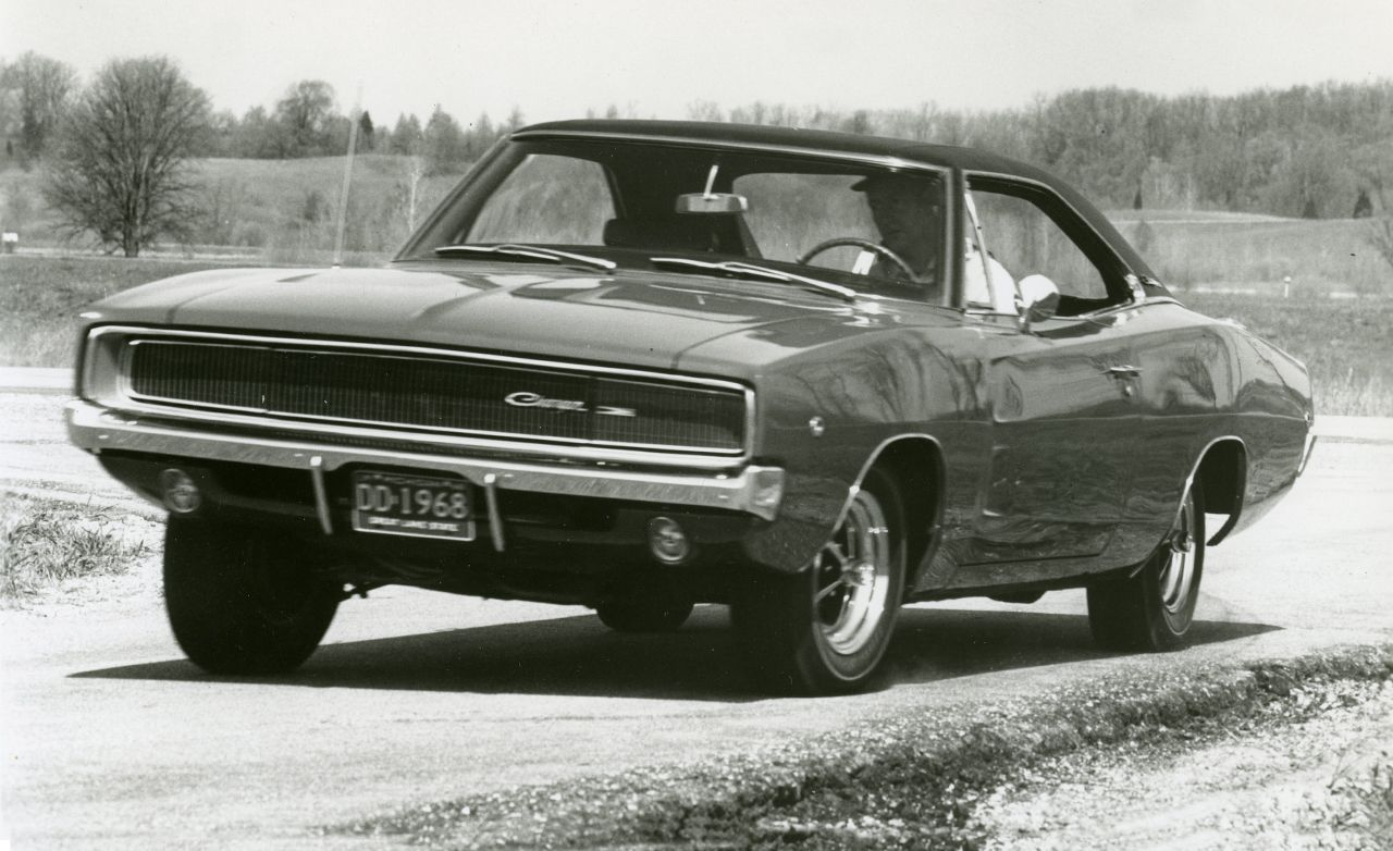 1968 Dodge Charger Hemi Archived Instrumented Test