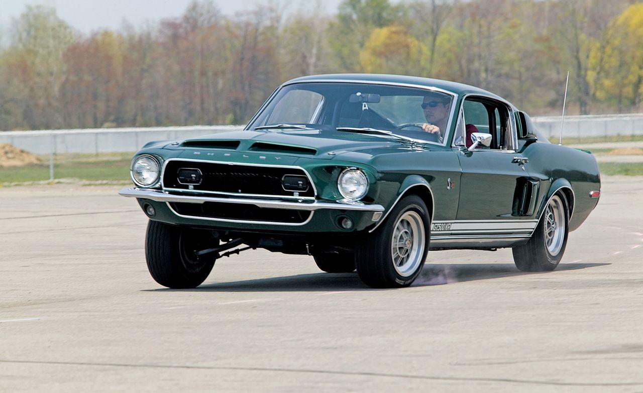 1968 Ford Mustang Shelby Gt500kr Vs 1968 Chevrolet
