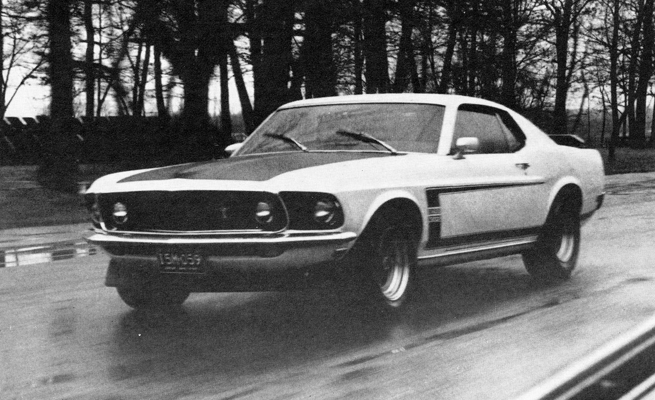 1969 Ford Mustang Boss 302 Review Car And Driver 429 Fastback