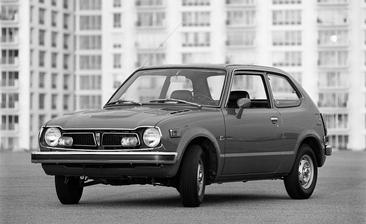 1973 Honda Civic Test Review Car And Driver 1970 Hatchback