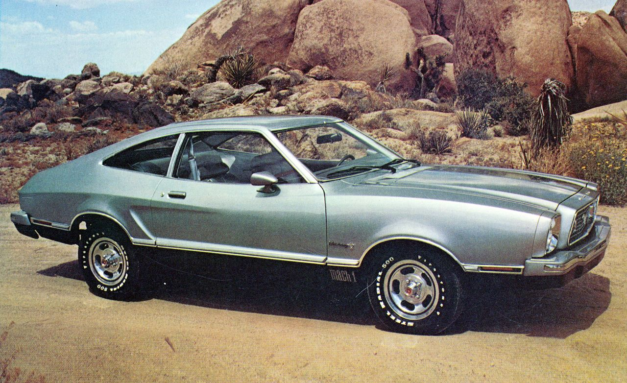 1974 ford mustang ii mach i review car and driver. Black Bedroom Furniture Sets. Home Design Ideas