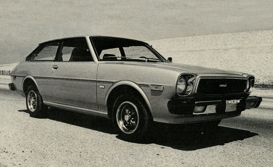 1976 toyota corolla liftback. Black Bedroom Furniture Sets. Home Design Ideas
