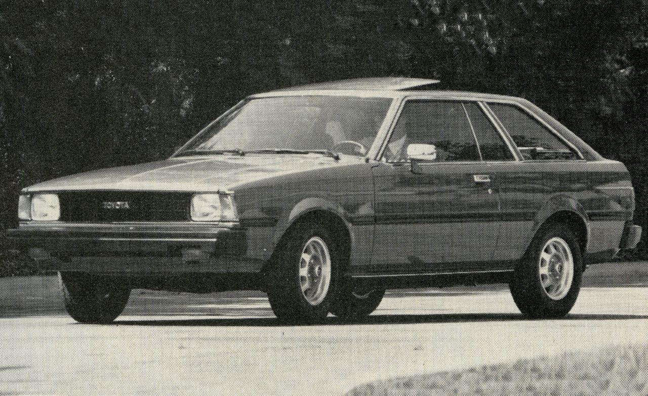 1981 toyota corolla sr 5 rh caranddriver com 1990 Toyota Corolla 1990 Toyota Corolla