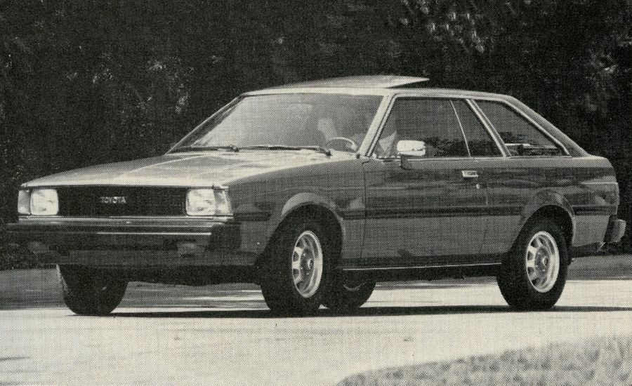 1981 toyota corolla sr 5 archived first drive review reviews car and driver. Black Bedroom Furniture Sets. Home Design Ideas