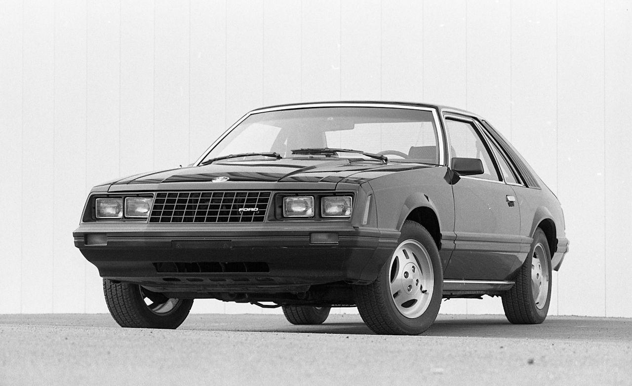 1982 Ford Mustang 5-Speed
