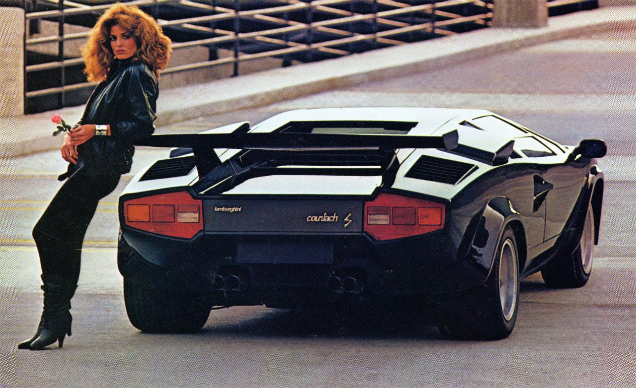 1983 Lamborghini Countach 5000s Road Test Review Car