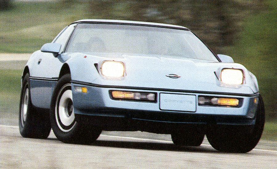 1984 chevrolet corvette c4 archived road test. Black Bedroom Furniture Sets. Home Design Ideas