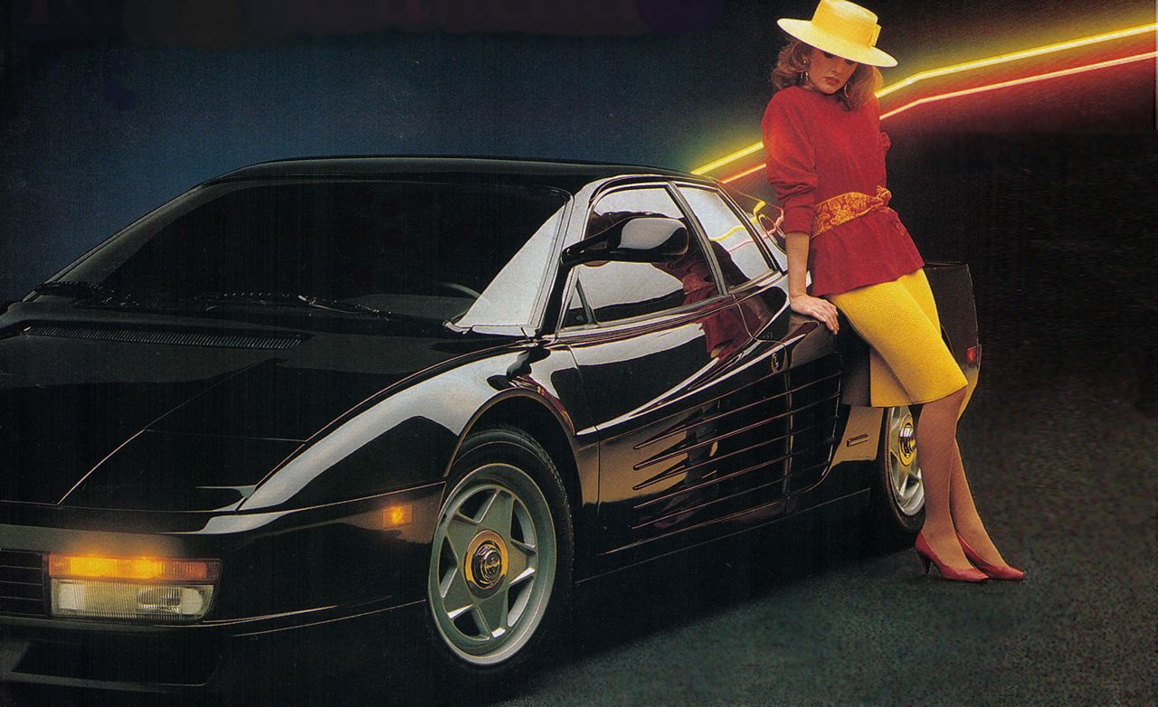 1985 Ferrari Testarossa Archived Road Test Review Car