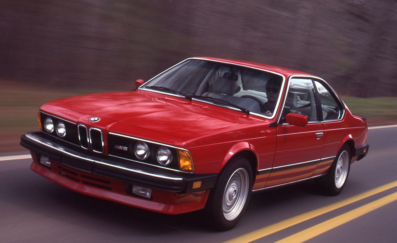 1987 Bmw M6 Road Test Review Car And Driver