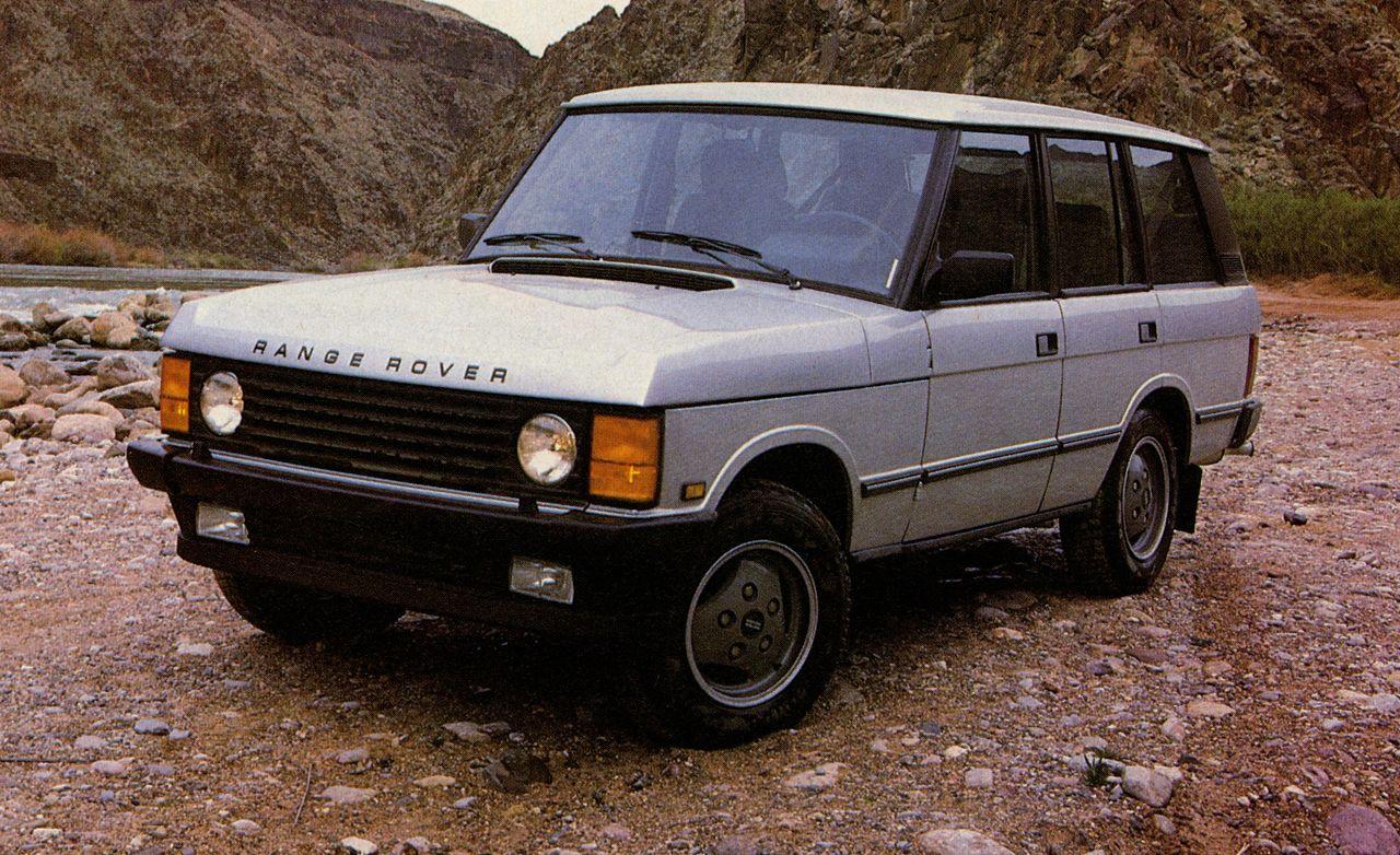 1987 land rover range rover rh caranddriver com 1980 Range Rover 2012 Range Rover