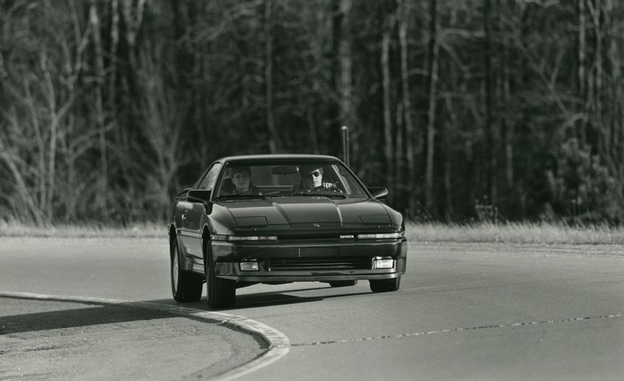 1987 Toyota Supra Turbo Road Test – Review – Car and Driver