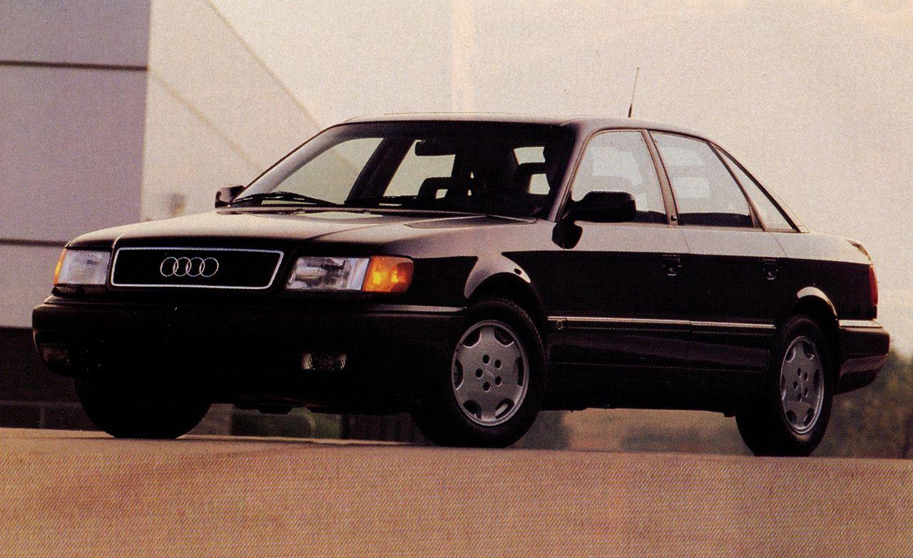 1992 audi 100cs rh caranddriver com 1991 Audi 100 Parts 1994 Audi 100