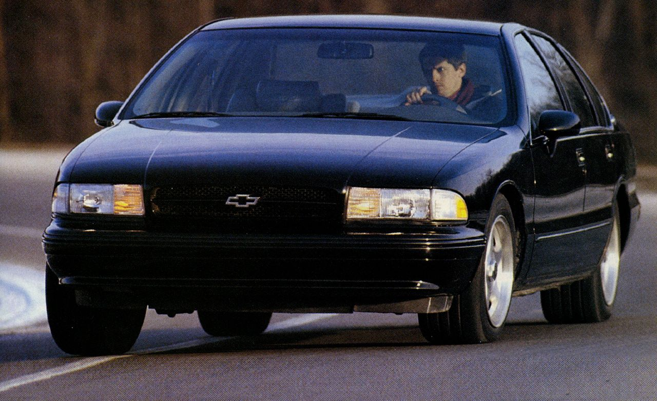 Cars and more chevy impala chevy impalas vehicles drag racing racing - 1994 Chevrolet Impala Ss Archived Instrumented Test Reviews Car And Driver
