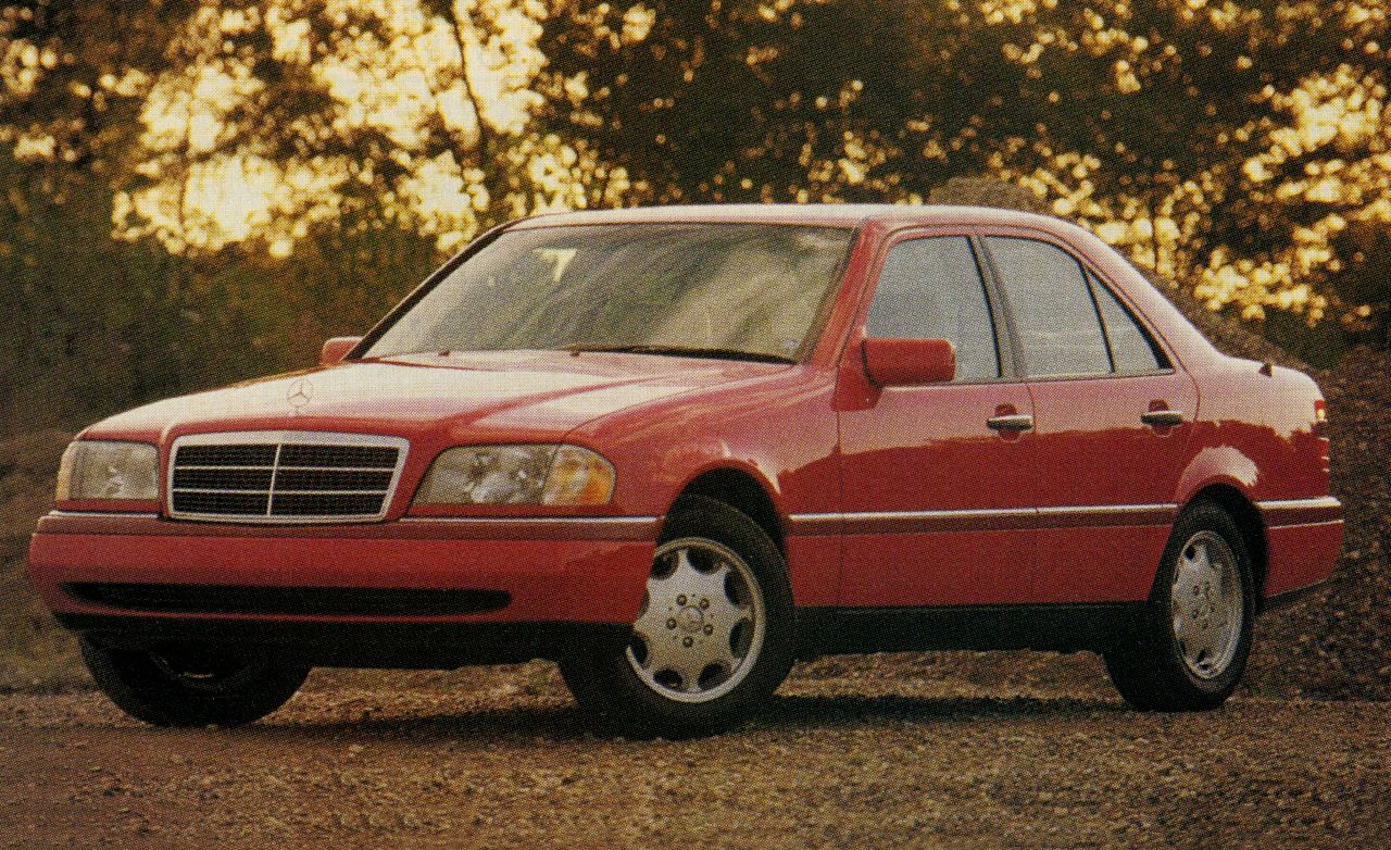 1994 mercedes benz c280 archived instrumented test reviews car and driver