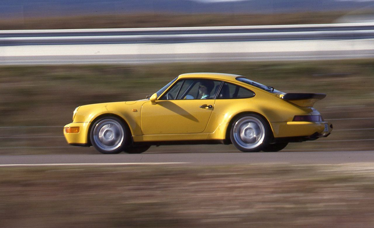 1994 porsche 911 turbo 3 6 archived road test review car and driver