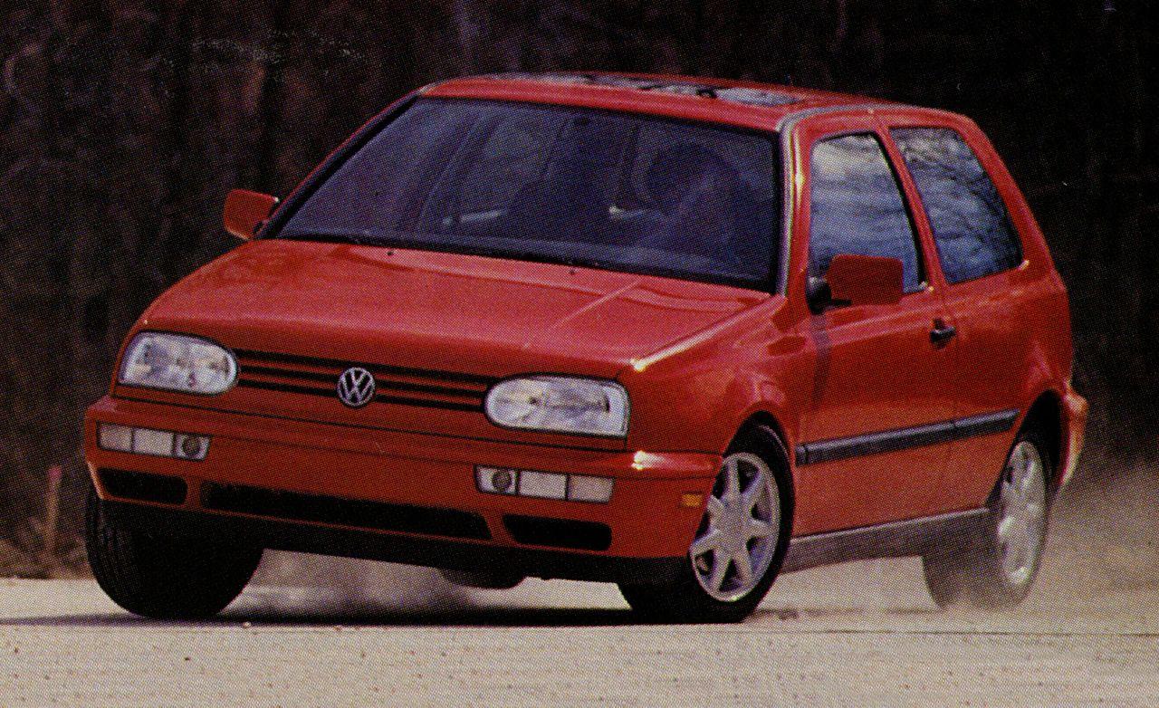 1994 volkswagen golf iii le rh caranddriver com 1994 Volkswagen Rabbit volkswagen golf gl 1994 manual