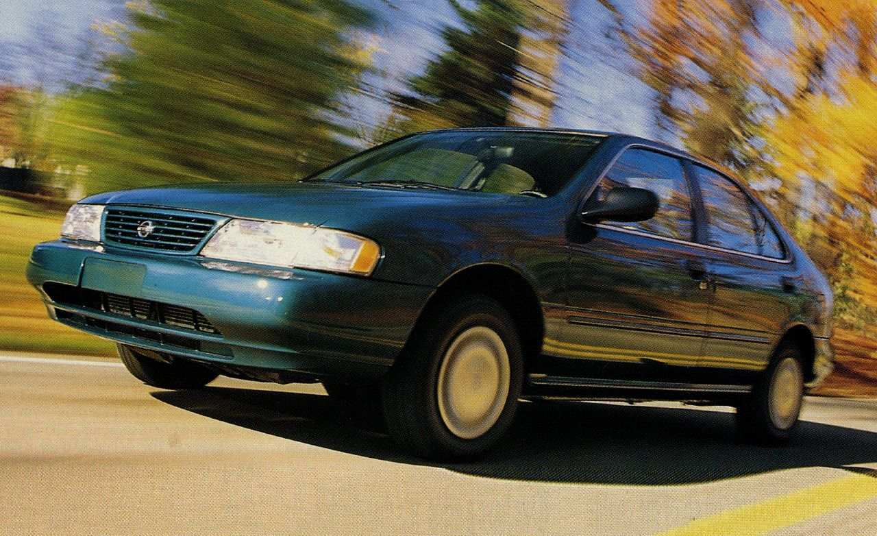 1995 Nissan Sentra GXE