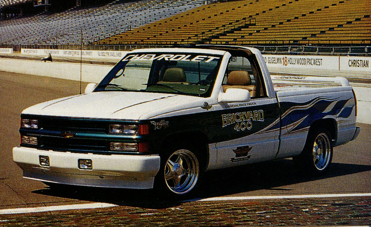 Land Rover Indianapolis >> 1996 Chevrolet C/K Vortec V-8 Pace Truck