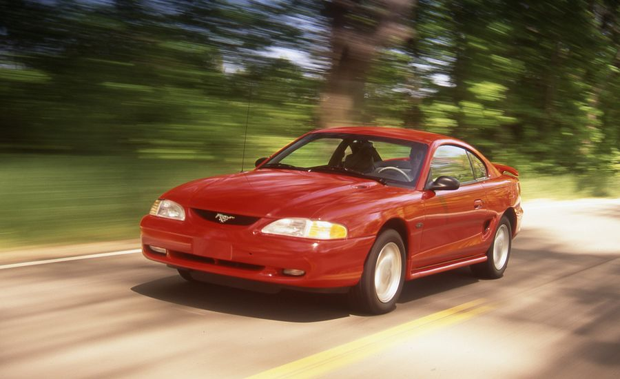 1996 Ford Mustang Gt Archived Instrumented Test Review Car And