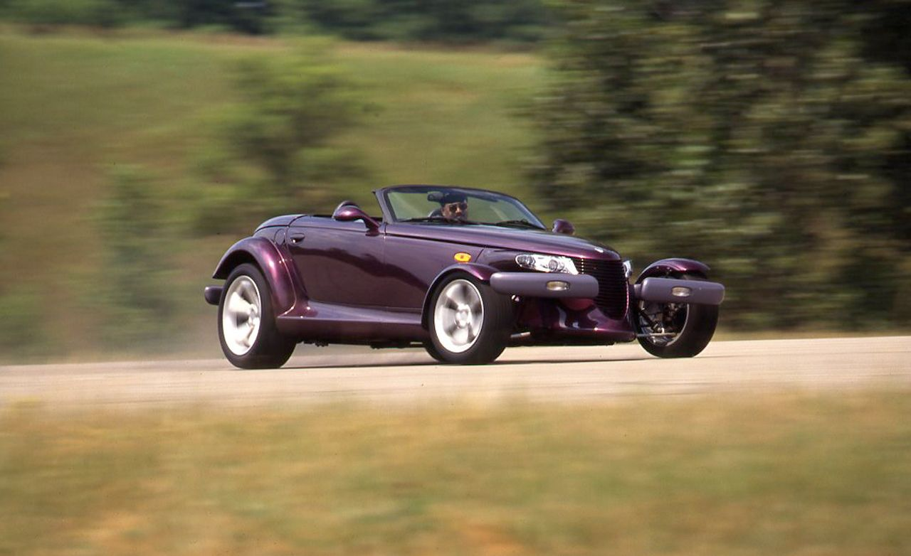 1997 plymouth prowler archived test review car and driver. Black Bedroom Furniture Sets. Home Design Ideas