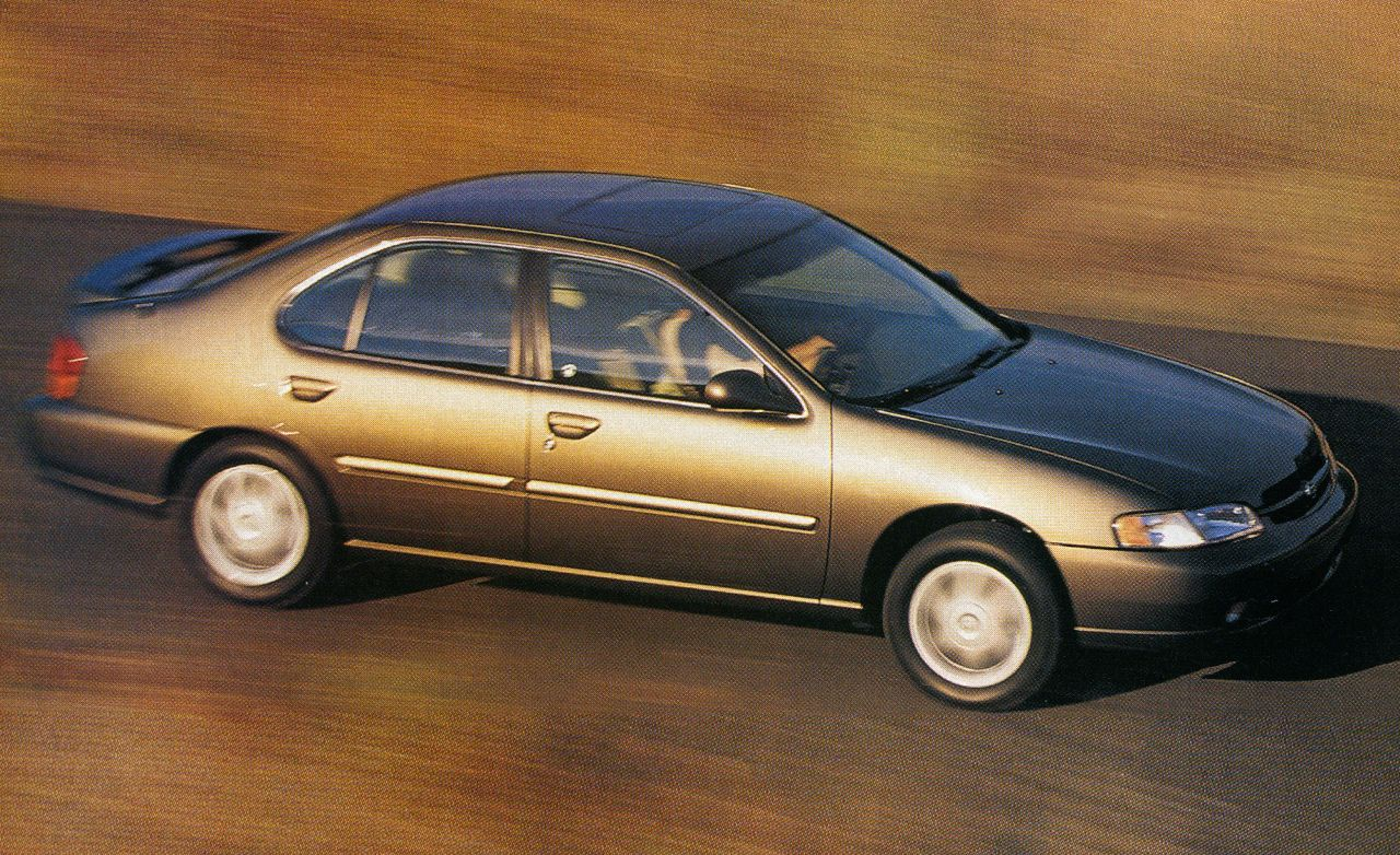 1998 nissan altima se | archived instrumented test | reviews | car