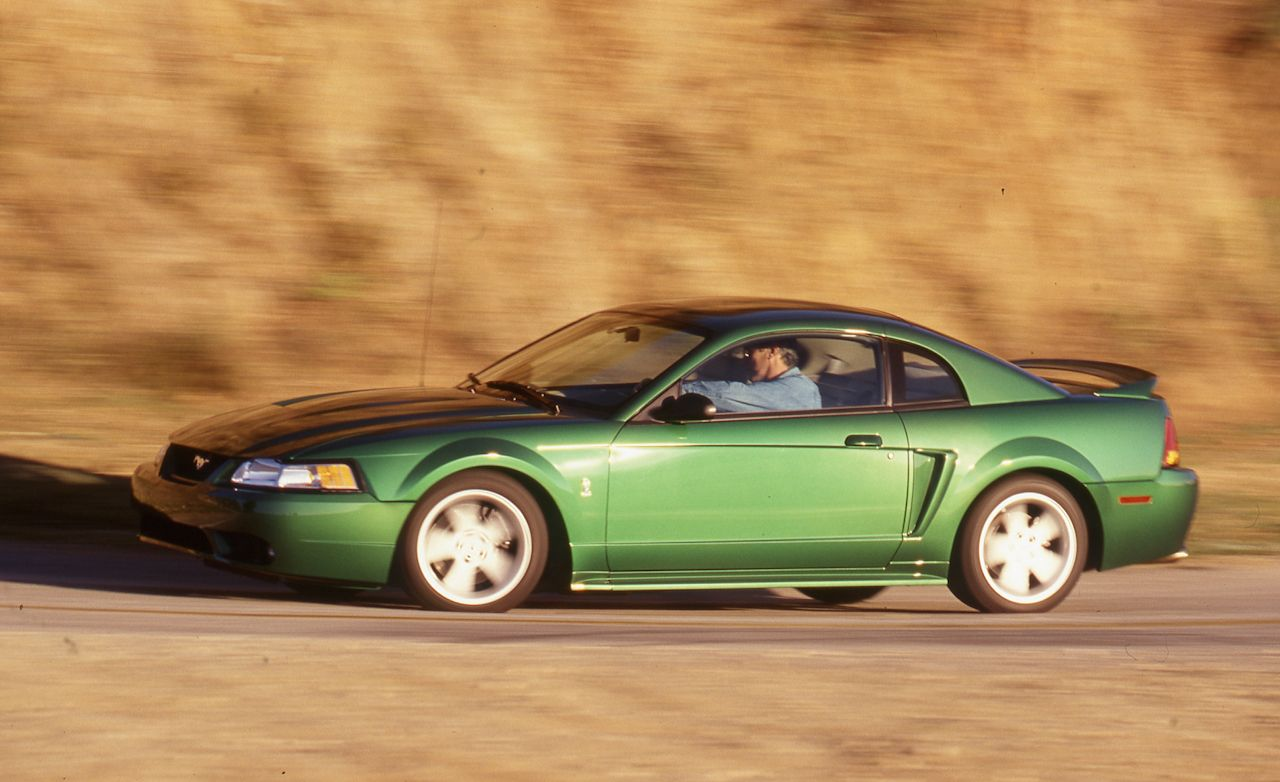 1999 ford mustang svt cobra tested review car and driver