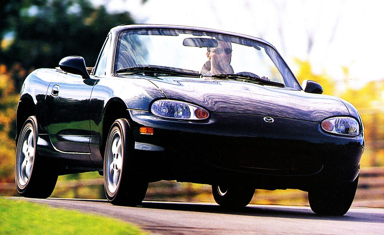 1999 Mazda Mx 5 Miata Road Test Review Car And Driver 1993 Starter System Diagram
