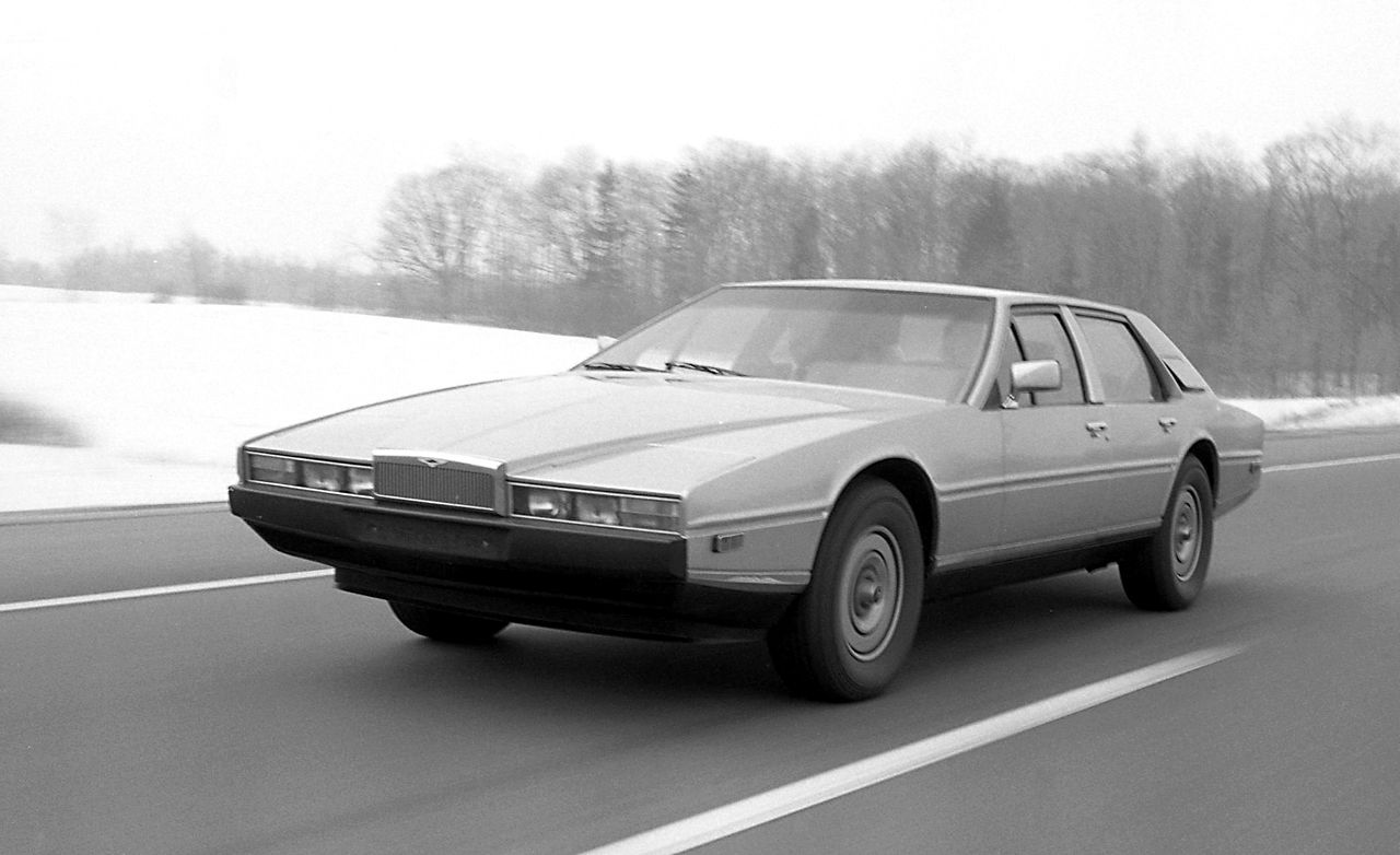 Aston Martin Lagonda: Driving First-Class