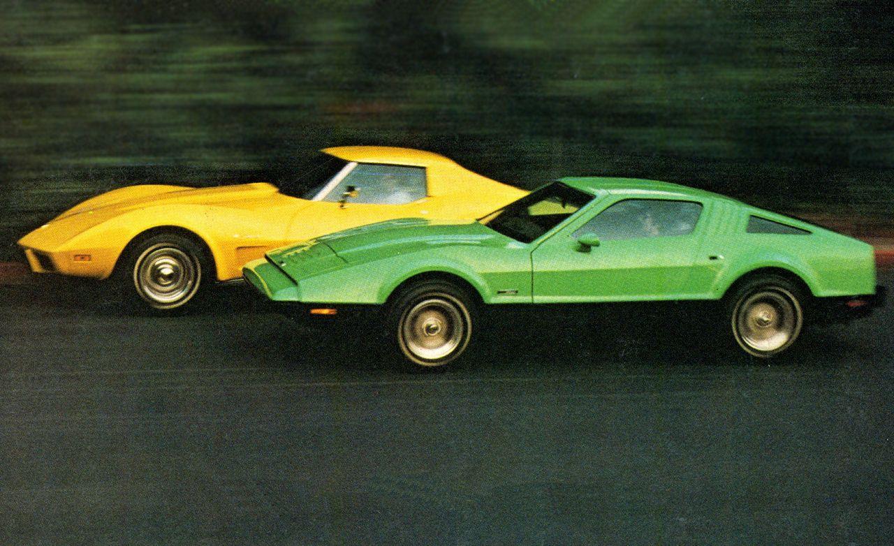 Chevrolet Corvette Stingray vs Bricklin SV1 – parison Test – Car and Driver