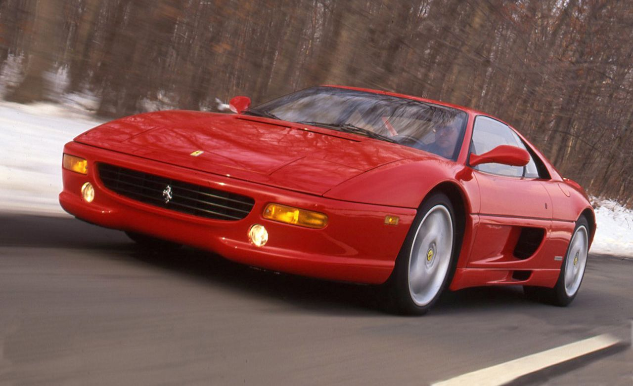 Ferrari F355 Archived Test Review Car And Driver 1971 Daytona Engine Diagram