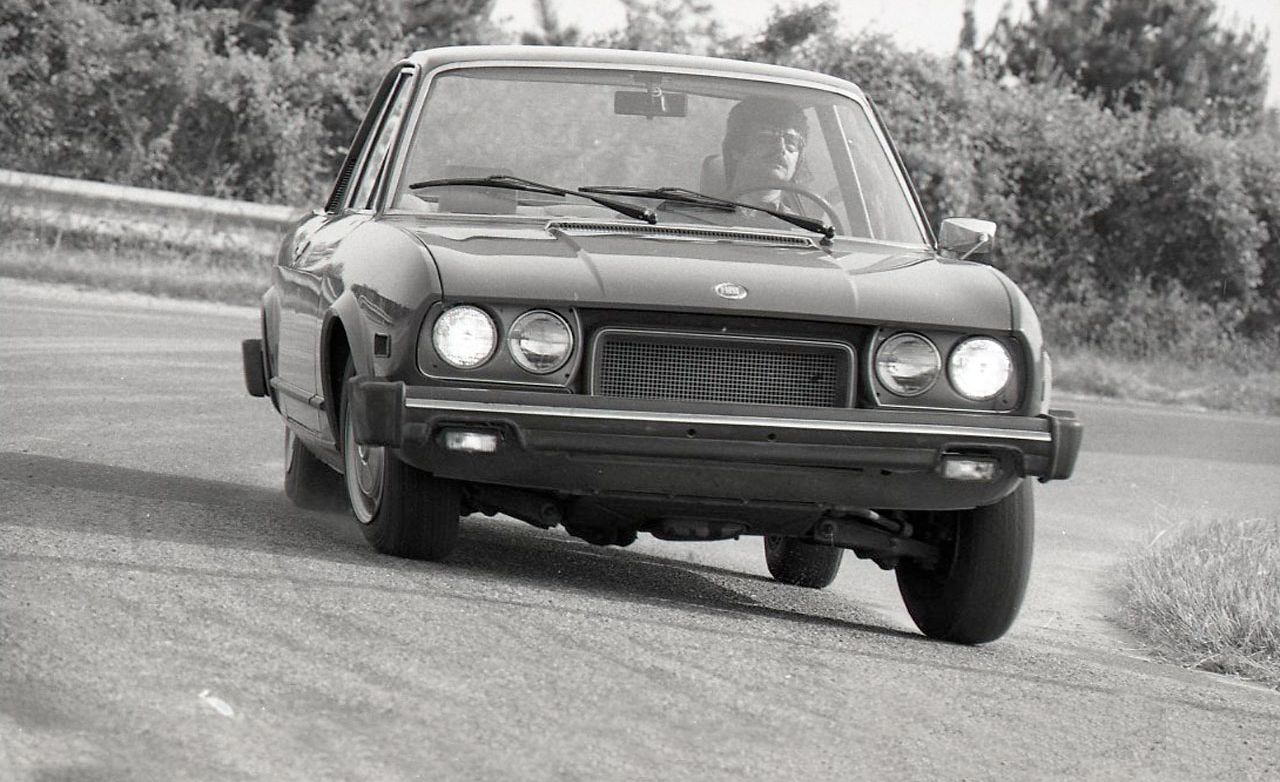 Fiat 124 Sport Coupe Archived Instrumented Test Car And Driver 1970 Spider