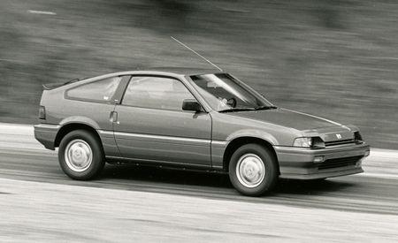Honda Civic Crx Si Review Car And Driver Photo S Original